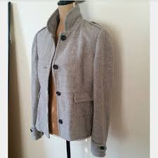 light grey wool coat banana republic jackets blazers banana republic light grey wool