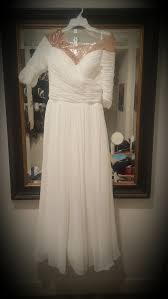 jenny packham custom made wedding dress on sale 47 off