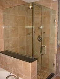 bathroom inspiring frameless shower door for modern bathroom