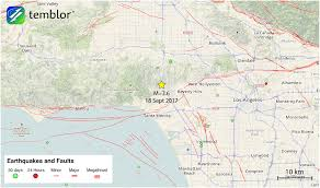 Map Of Greater Los Angeles Area by Los Angeles U0027 Seismic Risk Highlighted By Last Night U0027s M U003d3 6