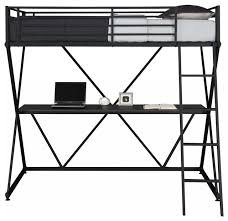 metal loft bed contemporary loft beds by shopladder