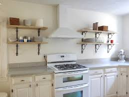kitchen kitchen wall shelves regarding splendid open wall
