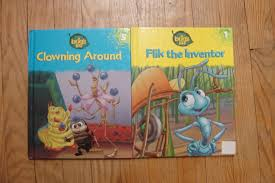 disney pixar a bug s set of 2 hardback books volume s 1 and 5