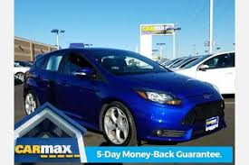 2014 ford focus st blue used 2014 ford focus st for sale pricing features edmunds