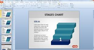 free stages chart powerpoint template free powerpoint templates