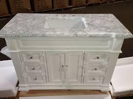 hf 084 kerianne bathroom sink vanity cabinet carrara white size 48
