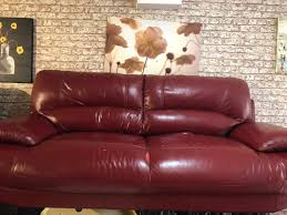 Leather Sofa Used Leather Sofa Used Retro In Eccles Manchester Gumtree