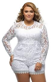 white jumpsuits plus size cheap plus size rompers for womens