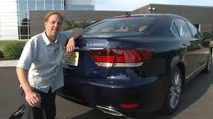 lexus ls400 vs audi a8 2013 lexus ls 600h l drive time review with steve hammes youtube