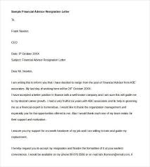 email resignation letter template 19 free sample example