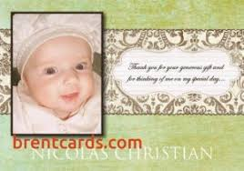 baptism thank you wording thank you card wording for baptism how to create wording