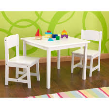 childrens table and 2 chairs kids aspen table and chair set in white kid kraft cuckooland