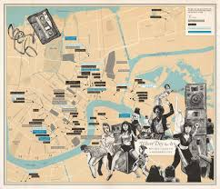 Map Of Downtown New Orleans by Where You Are Cartography As Wayfinding For The Soul