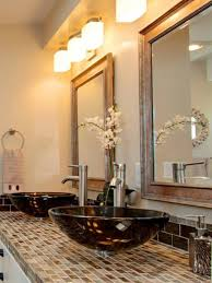 Rustic Bathroom Lighting Ideas Bathroom Bathroom Lighting Ideas Hgtv Bathrooms Bathroom Models
