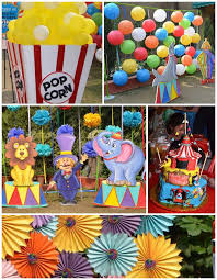 kara u0027s party ideas first birthday carnival party planning decor