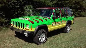 jeep cherokee green 2017 jurassic park jeep cherokee imgur
