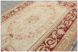 Chinese Aubusson Rugs 10x14 Wool Handmade Aubusson Area Rug Antique French Pastel