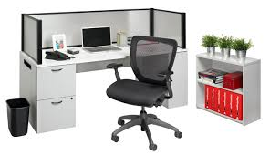 Office Desk Privacy Screen Nightingale Chairs Office In A Box Desk With Privacy Screen And