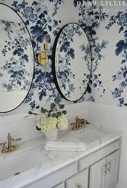 Blue And White Wallpaper by Best 25 Blue Floral Wallpaper Ideas On Pinterest Floral