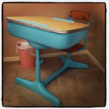 refinish an old desk in in a bright modern color kid u0027s