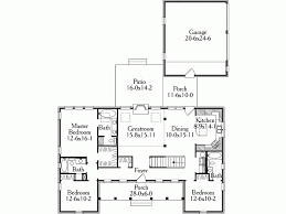 symmetrical house plans eplans country house plan a pleasing symmetrical country home
