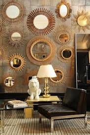 home interiors mirrors a gallery style arrangement of mirrors both antique and