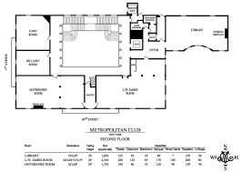 Floor Plans Floor Plans U0026 Capacities Metropolitan Club Of New York