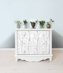 why not decorate your furniture too gray woods peel and stick