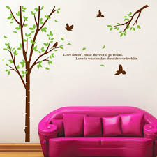 Eiffel Tower Wall Decals Tree Branch And Birds Wall Sticker Wallstickerscool Com Au Wall