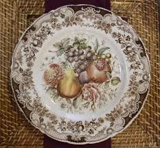 harvest pattern by johnson brothers my favorite plate of all