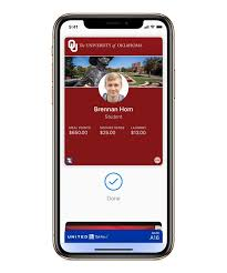 Oklahoma Travel Watch images Your apple watch and iphone are your student ids on campus jpg