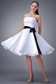 black and white bridesmaid dresses cheap snowybridal com