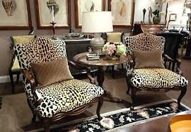 Printed Living Room Chairs Design Ideas Leopard Living Room Print Chair Animal Chairs With Regard To Ideas