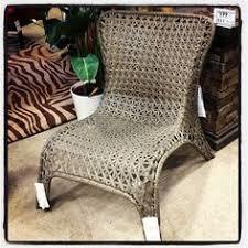 Woven Patio Chair Shop Garden Treasures Tucker Bend Black Steel Seat Woven Patio