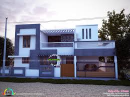 east facing simple modern home kerala design and floor plans