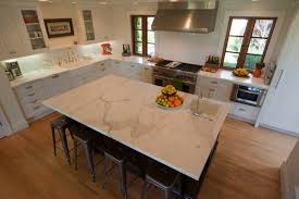 Calcutta Ora Counters Transitional Kitchen Modern Organic - Kitchen prep sinks