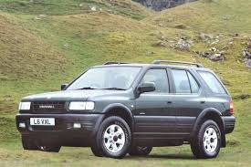 vauxhall ford vauxhall frontera 1991 car review honest john