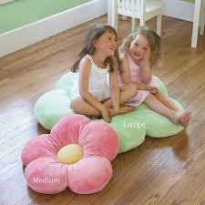 pillow beds for kids amazon com girls flower floor pillow seating cushion for a