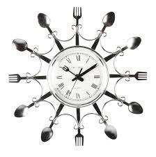 kitchen utensil clock ebay cool kitchen clocks jpg home design