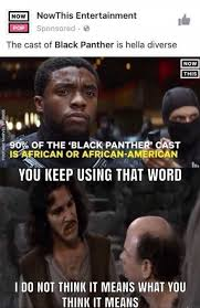 Meme Means What - the cast of black panther is hella diverse meme xyz