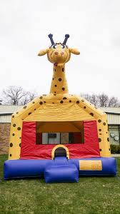 halloween bounce house rentals giraffe bounce house rental in dutchess county ny