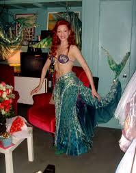 Ariel Costume Halloween Michelle Ariel Costumes Mermaid Broadway Photo