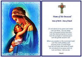funeral prayer cards standard business funeral prayer card template free dy930