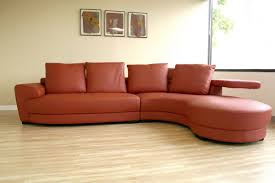 curved leather couch furniture maroon red sectional sofa with leather finishing