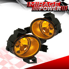 lexus is350 jdm fog lights for 2005 2006 nissan altima driving yellow bumper fog lights