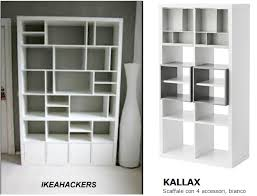 libreria kallax ikeahackers and eket home shaped