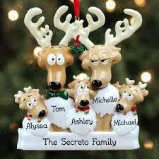 personalized ornaments personalized ornaments family snow shovel family of eight