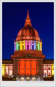 sf city hall lights san francisco s city hall shines in rainbow colors daniel leu