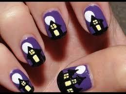 imagenes de uñas decoradas de jalowin uñas decoradas para halloween uñas fáciles de hacer youtube