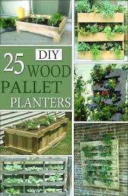 25 diy wood pallet planter plans and ideas diy home decor on